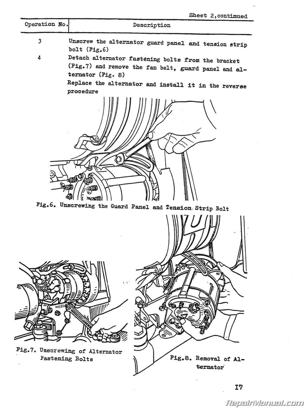 white 250 tractor parts manual