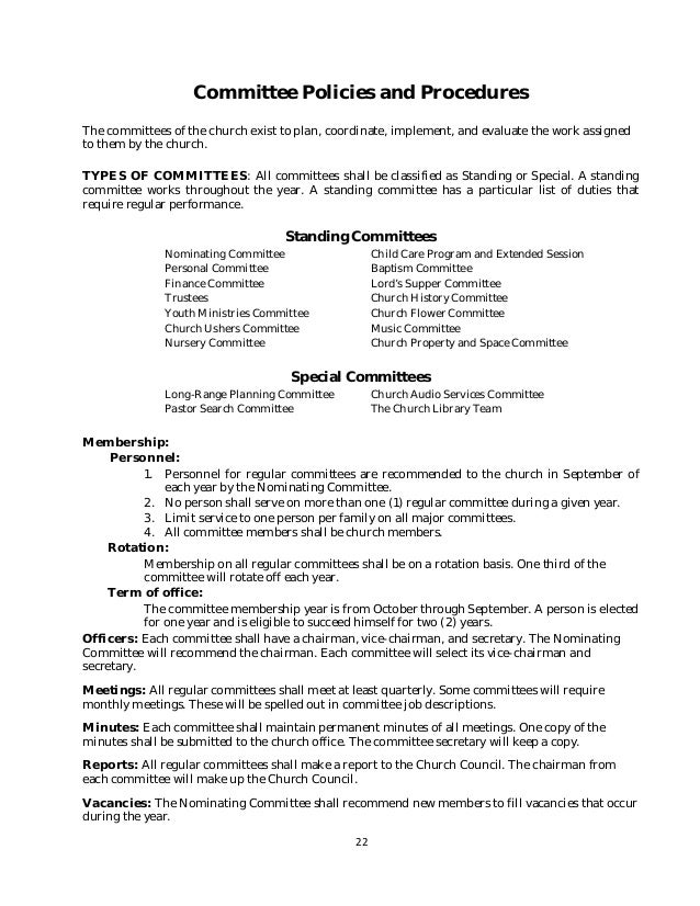after school program staff policy manual