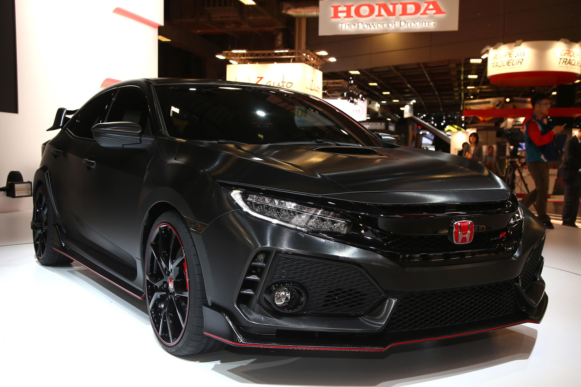 honda civic type r only manual