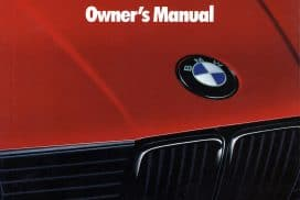 bmw owners manual for gas octane