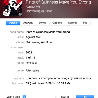 how to manually edit songs on iphone with itunes