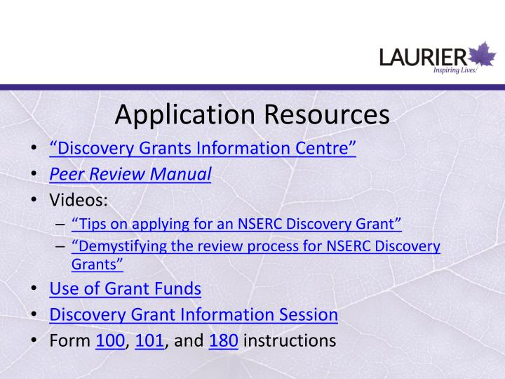 nserc discovery grant peer review manual